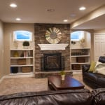 basement remodel project