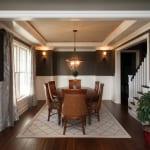 Plowman Ridge custom home dining room