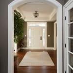 Plowman Ridge custom home entryway