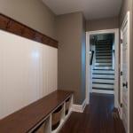 Plowman Ridge custom home clothes rack