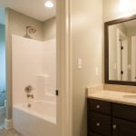 custom home bathroom