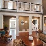 custom home great room