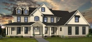 FoxBuilt home rendering - Glendale Estates